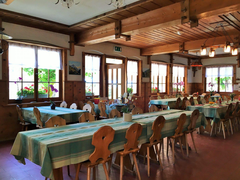 Hotel Maderanertal interior, switzerland