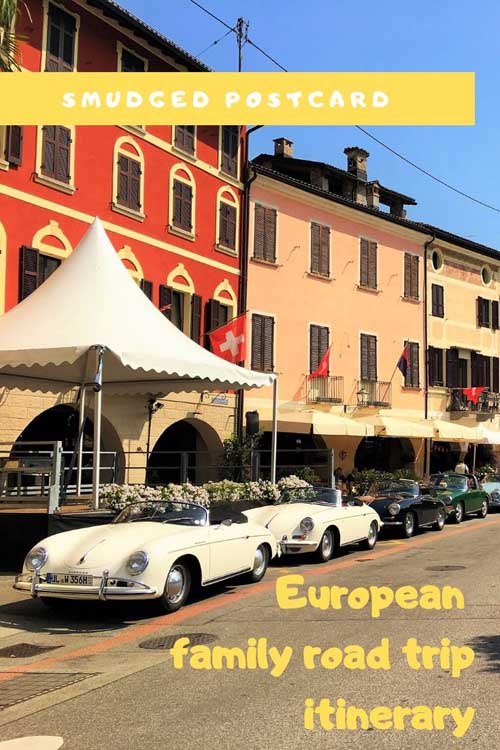 European family road trip from UK to Italy