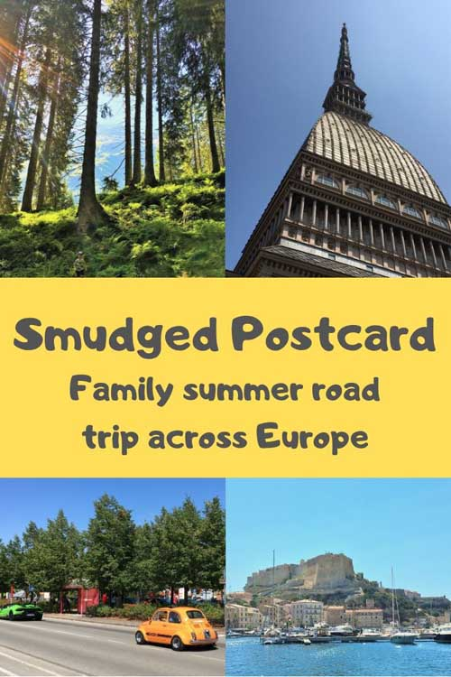 European family road trip