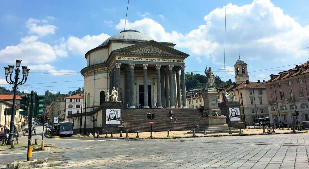 Chiesa Gran Madre di Dio, Turin, Italy
