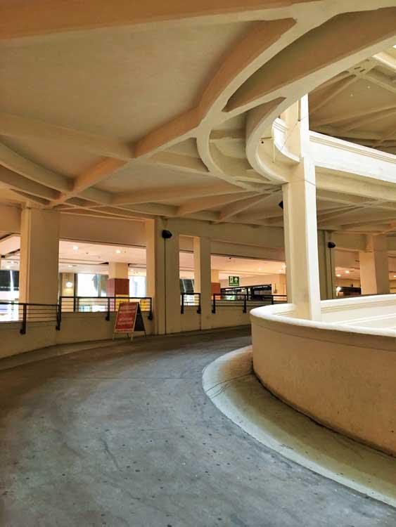 Fiat Lingotto factory floors