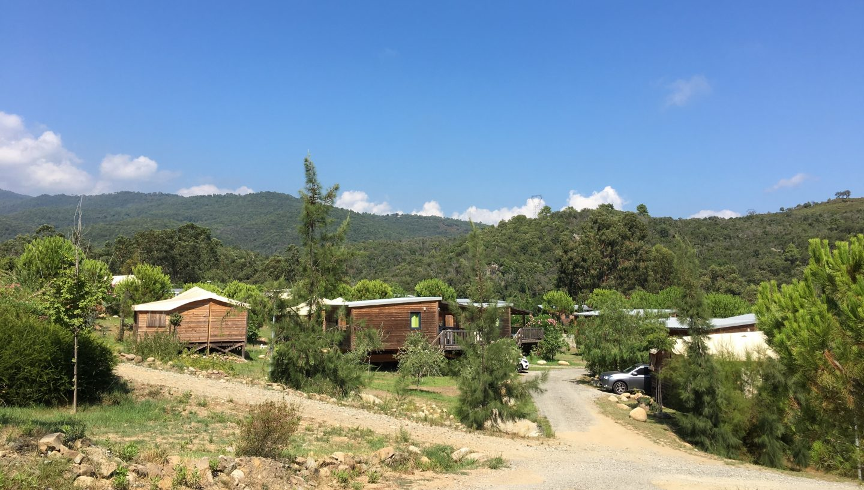 Sari di Solenzara campsite, Corsica