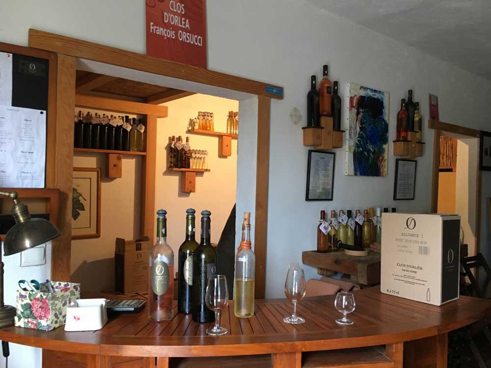 Wine tasting in Corsica
