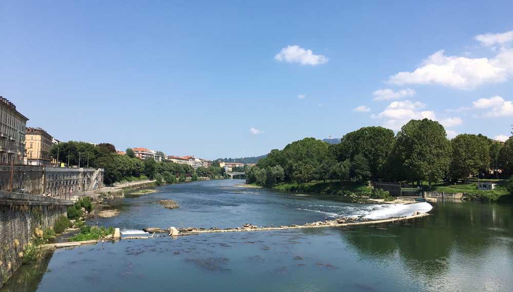 River Po, Turin Italy