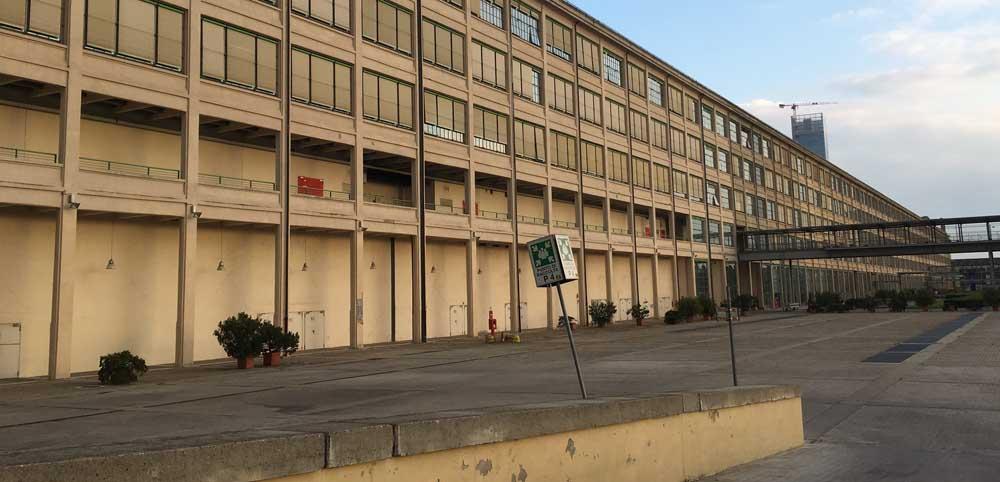 Lingotto factory exterior Turin Italy