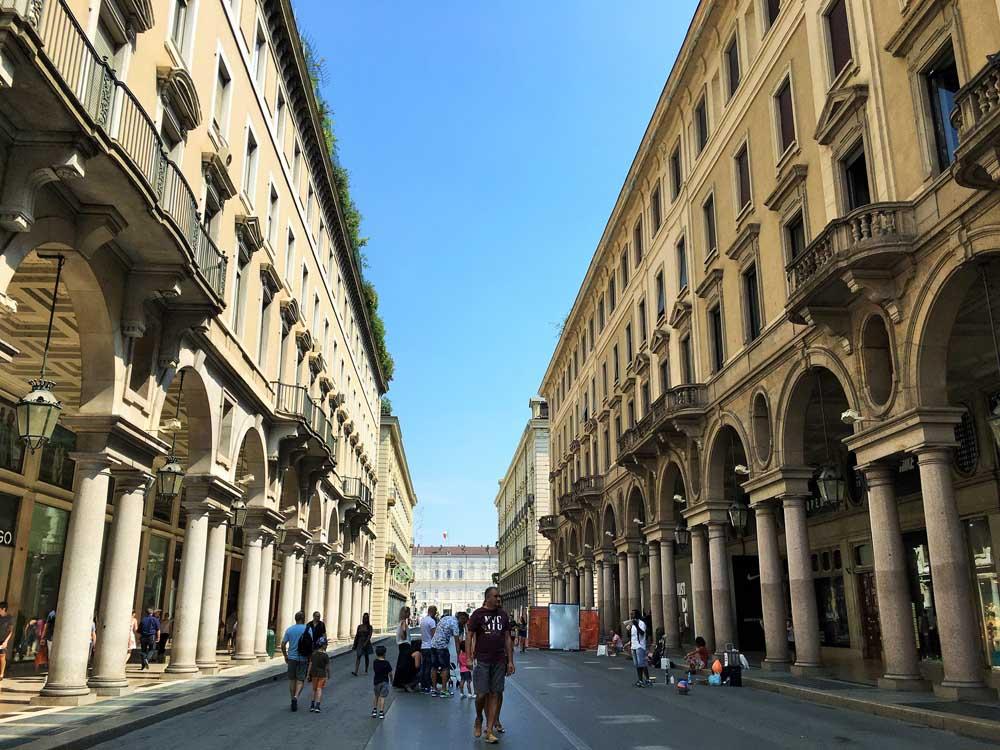 Via Roma, Turin Italy