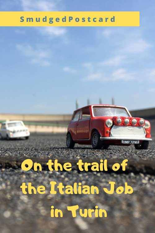 The Italian Job film locations: Lingotto factory test track, Visit Turin with kids and explore the locations of the city made famous by the 1969 Italian Job movie with Michael Caine