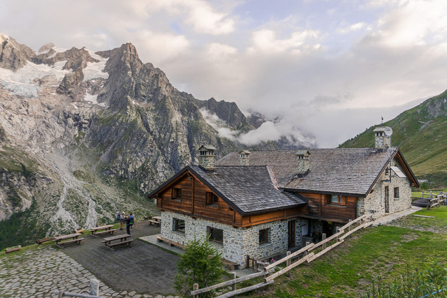 Refuge on the Tour du Mont Blanc, Family Walking Holidays