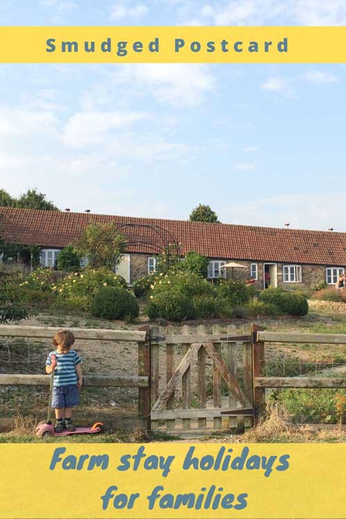 farm stay family holidays in the UK