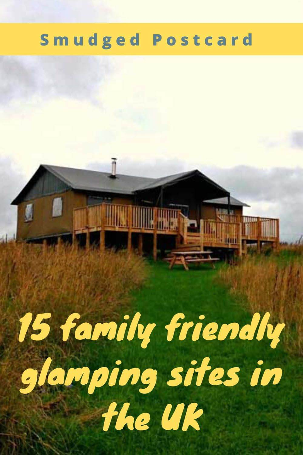 family glamping in the UK