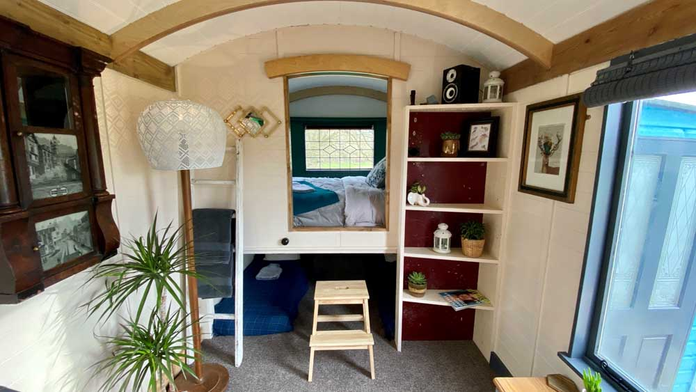 family friendly glamping hut in Norfolk