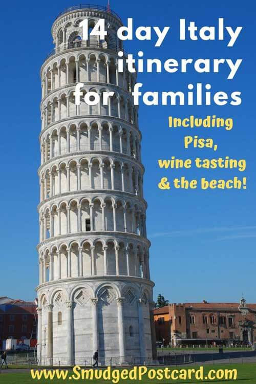 14 day Italy driving holiday for families