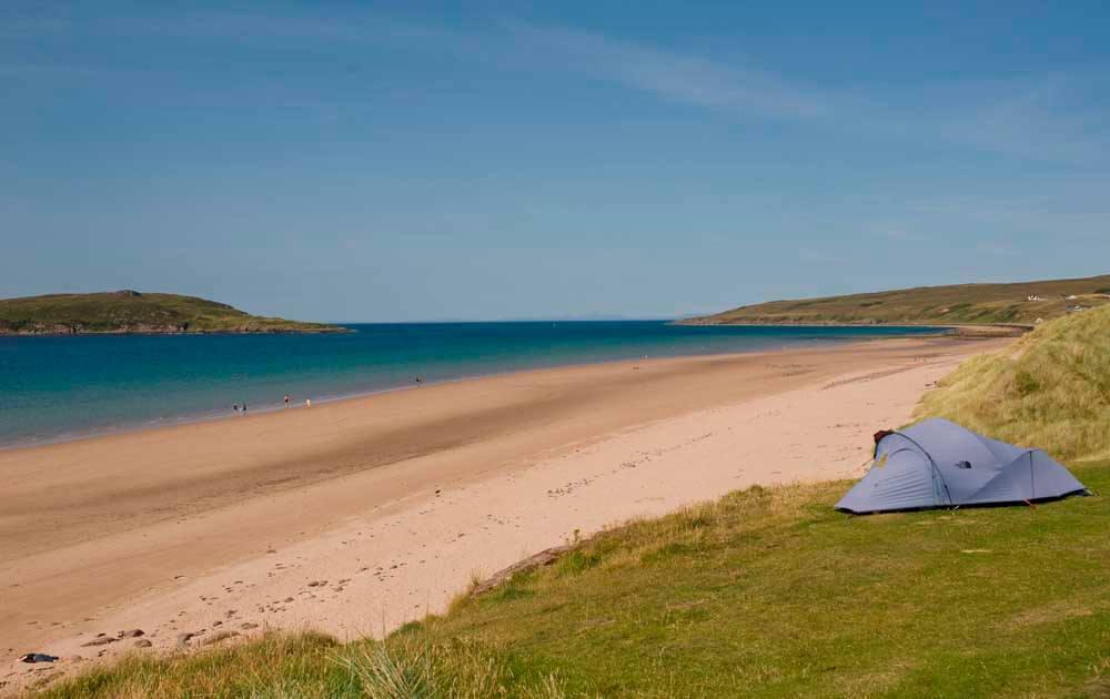 Big Sands Beach in Scotland