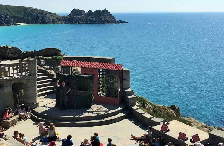 Craig Johnson: Squashbox Theatre at the Minack Theatre, Cornwall outdoor theatre