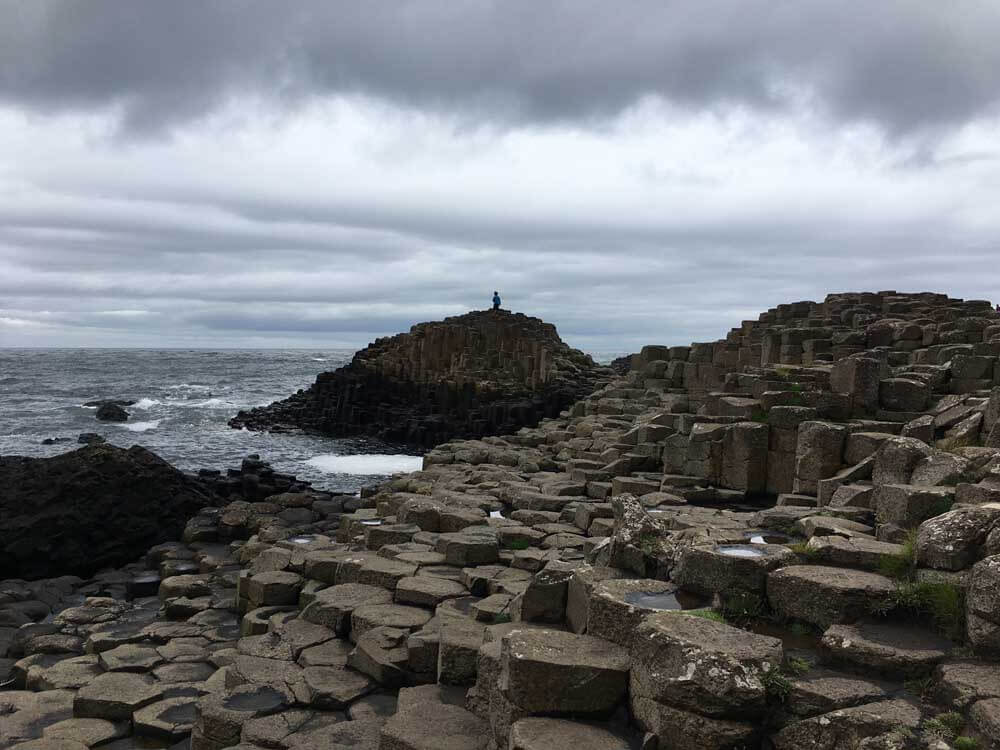 Giant's Causeway, one of The best things to do in Northern Ireland with kids