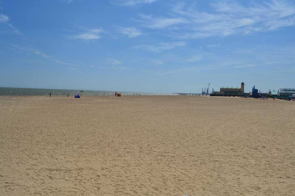 Great Yarmouth beach UK