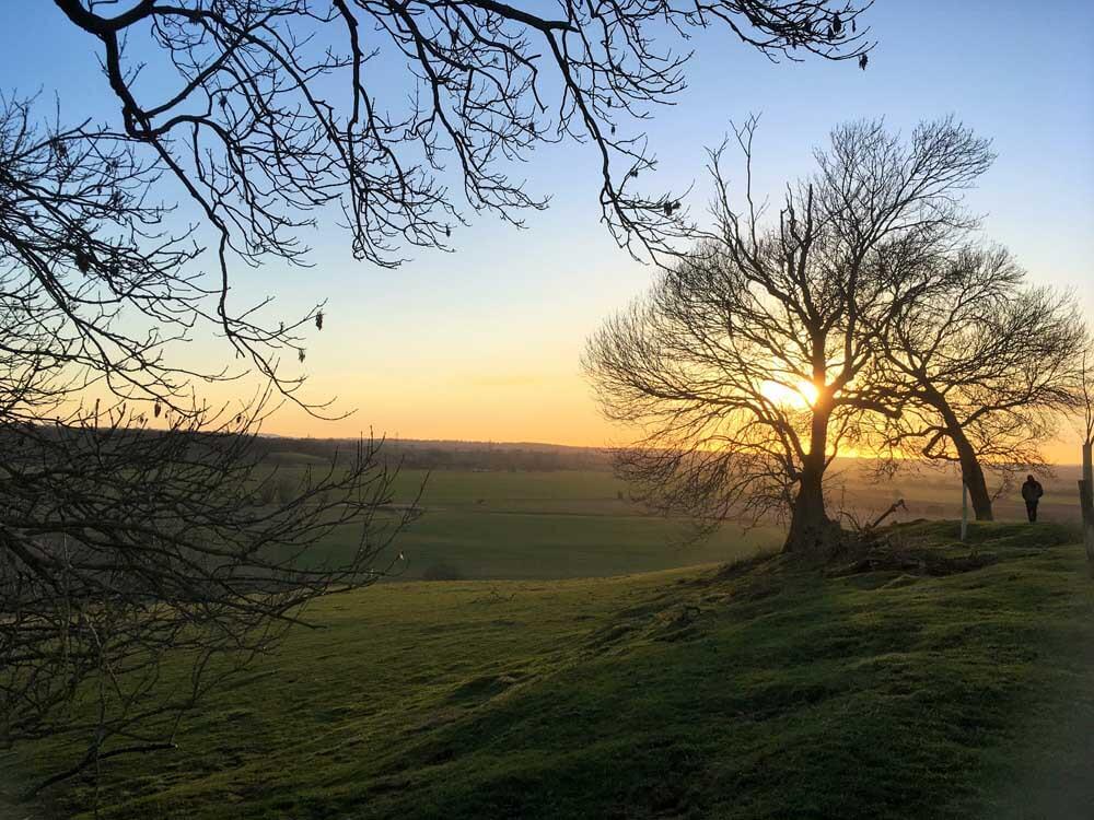 High Weald countryside