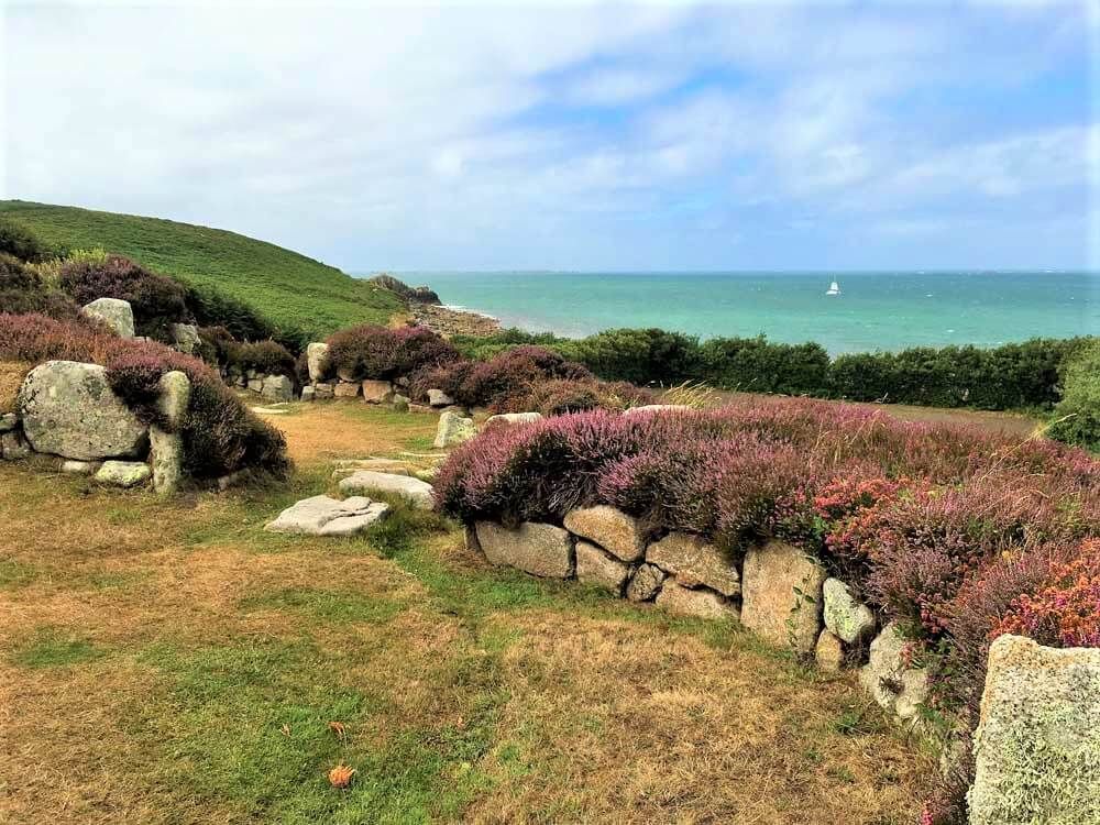 Iron Age settlement at Halangy Down, St Mary's, Scilly Isles
