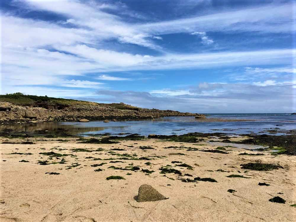 Pelistry Bay beach Scilly Isles