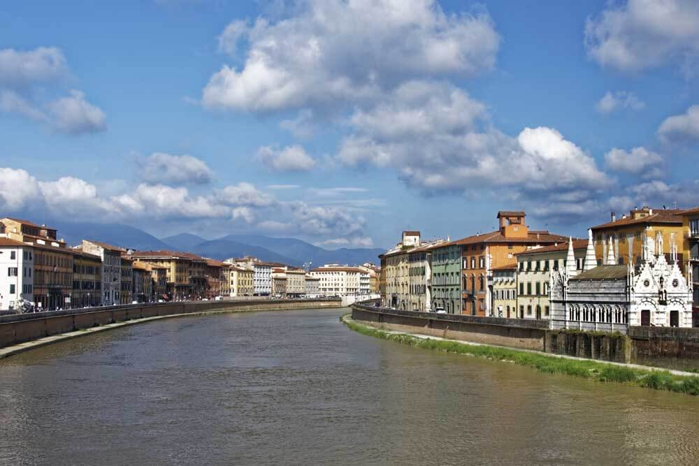 Pisa family holidays: the River Arno