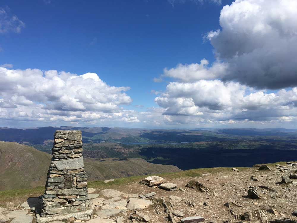 old man of coniston in the lake district, cool places to go hiking