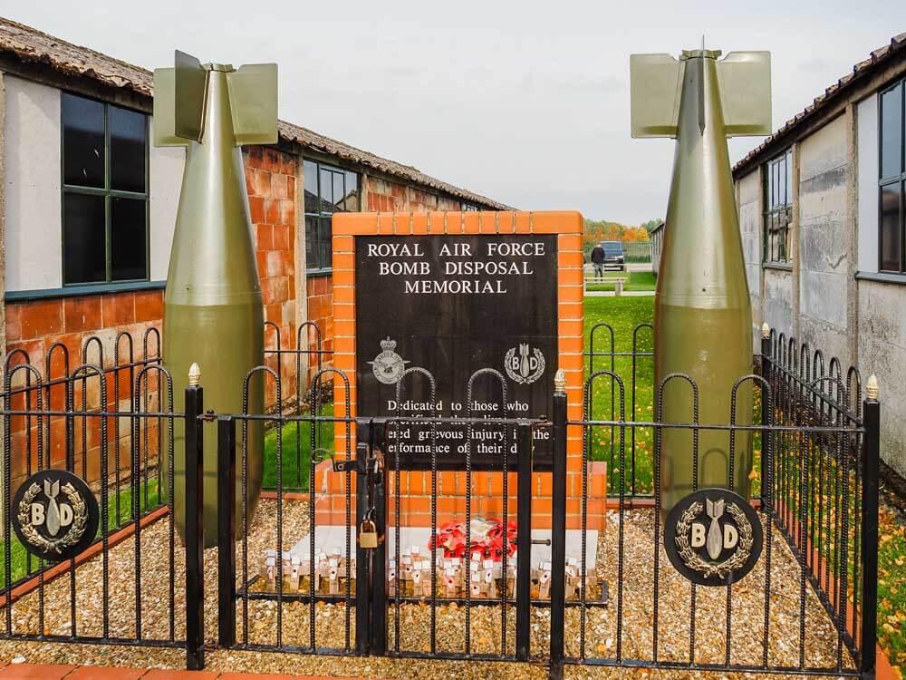 Eden Camp open air museum in Yorkshire