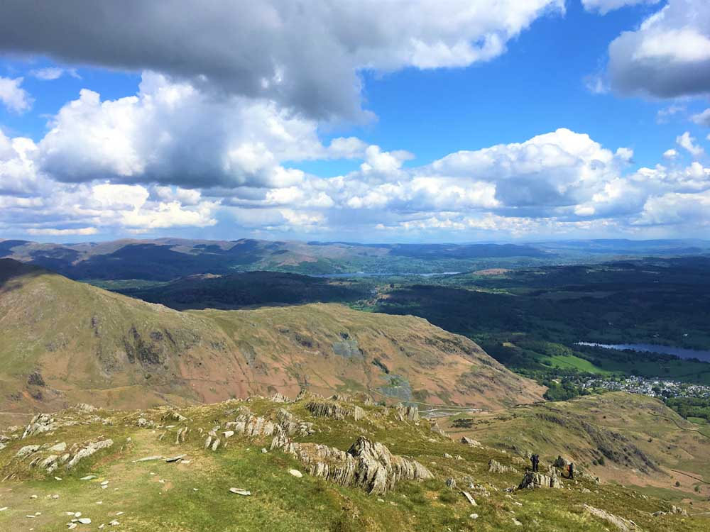 Landscape in the Lake District outdoor places to go