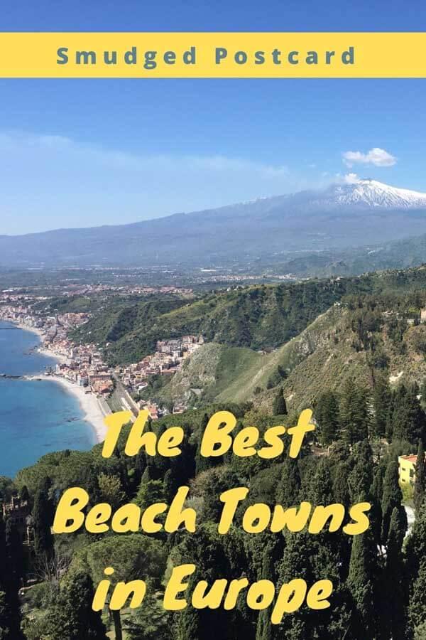 European beach towns