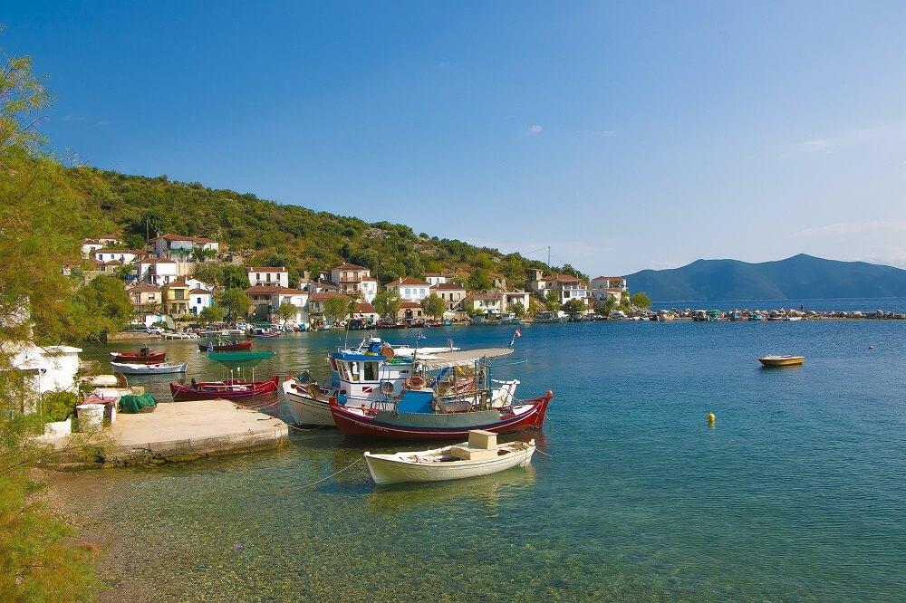 Pelion scenery in Greece