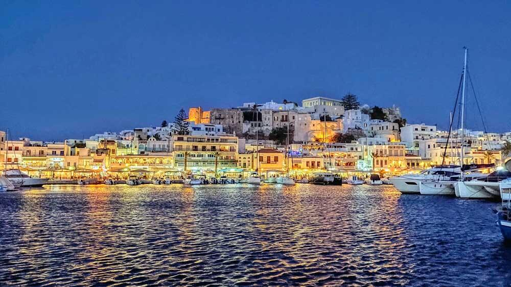One of the best beach towns in Greece: Naxos Town