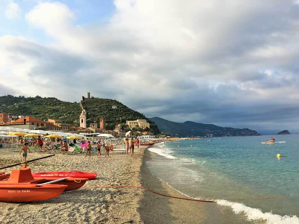 Noli, one of the best beach towns in Liguria