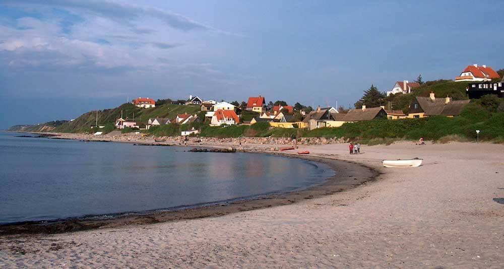 Tisvildeleje, beautiful beach town in Denmark
