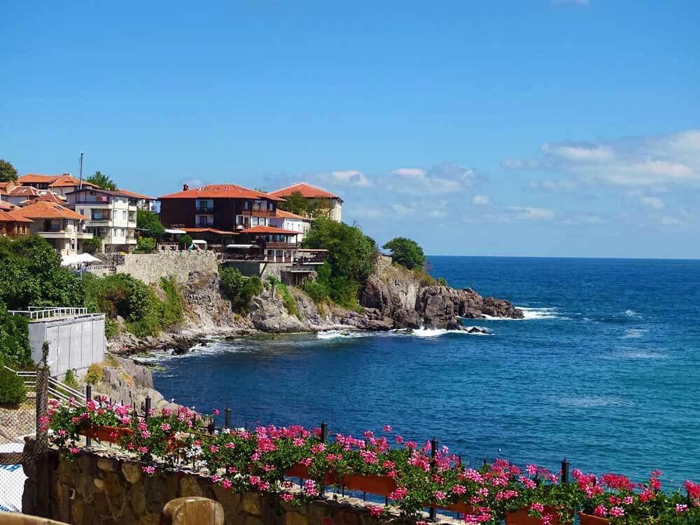Seaside town of Sozopol in Bulgaria