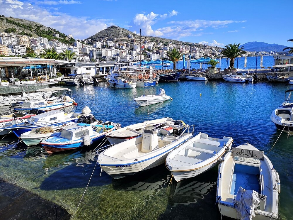 Sarande one of the best beach towns in Bulgaria