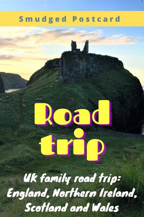 UK family road trip itinerary