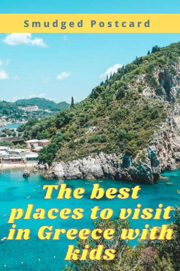 Thre best places to visit in Greece with kids
