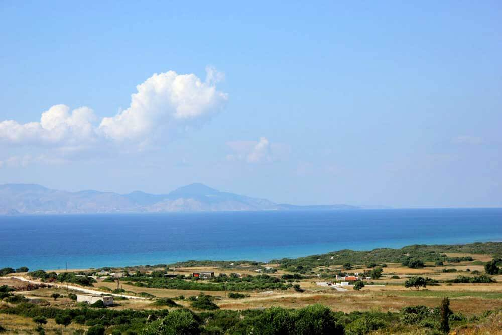 scenery on Greek Island of Kos