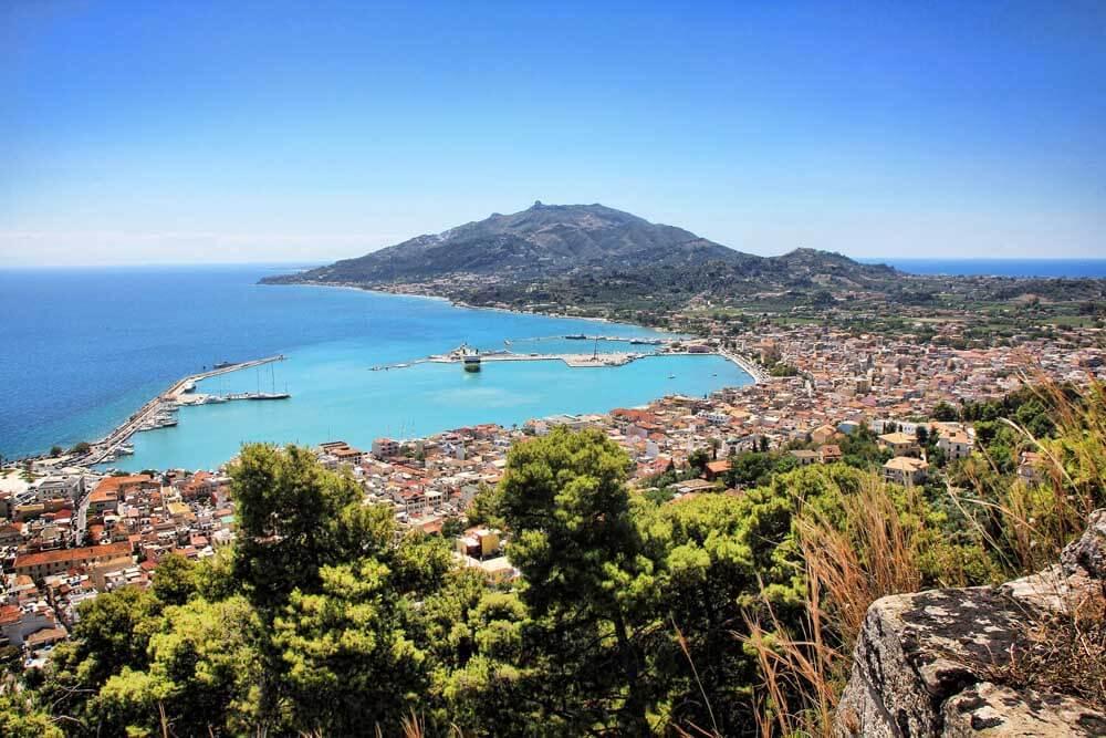 Greek island scenery