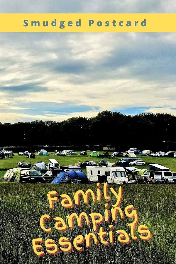 Family camping essentials checklist