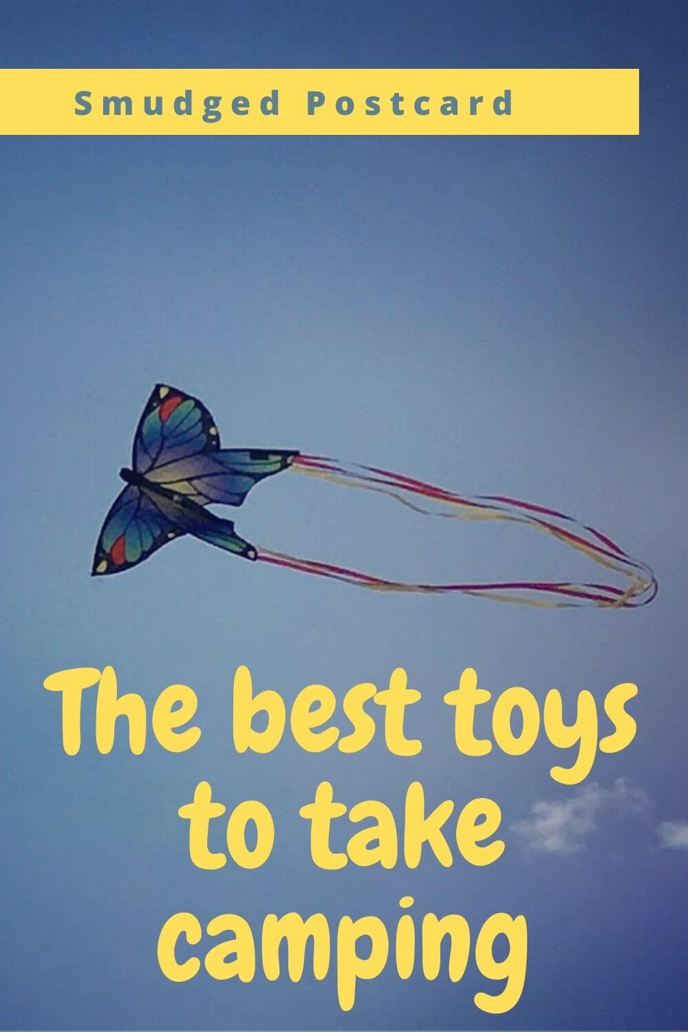 The best camping toys for kids