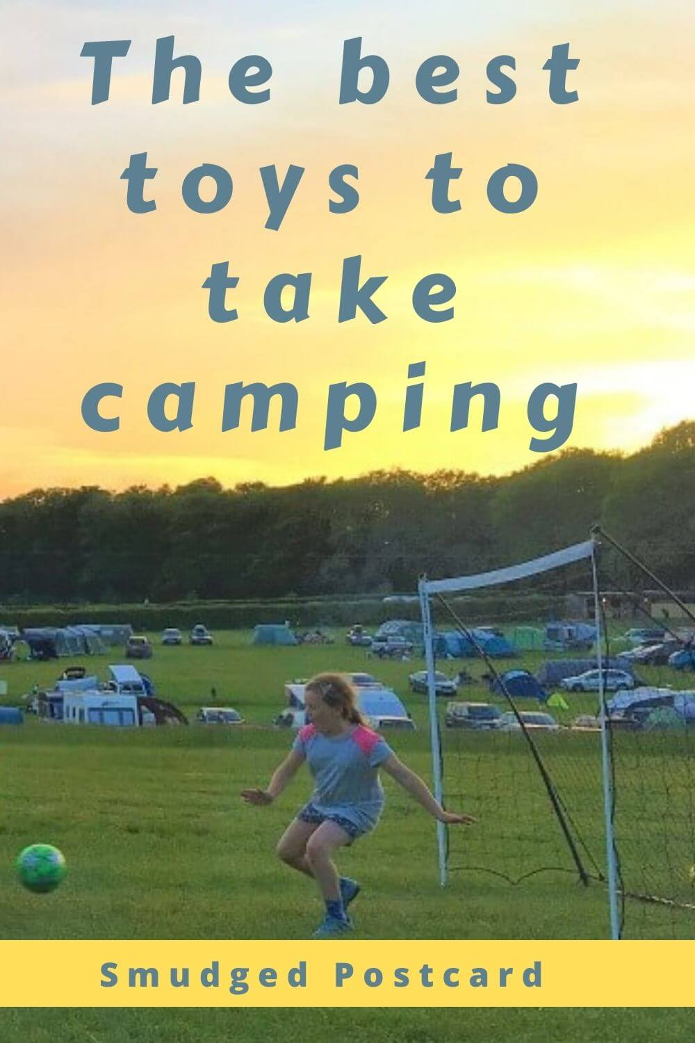 The best toys to take camping for kids