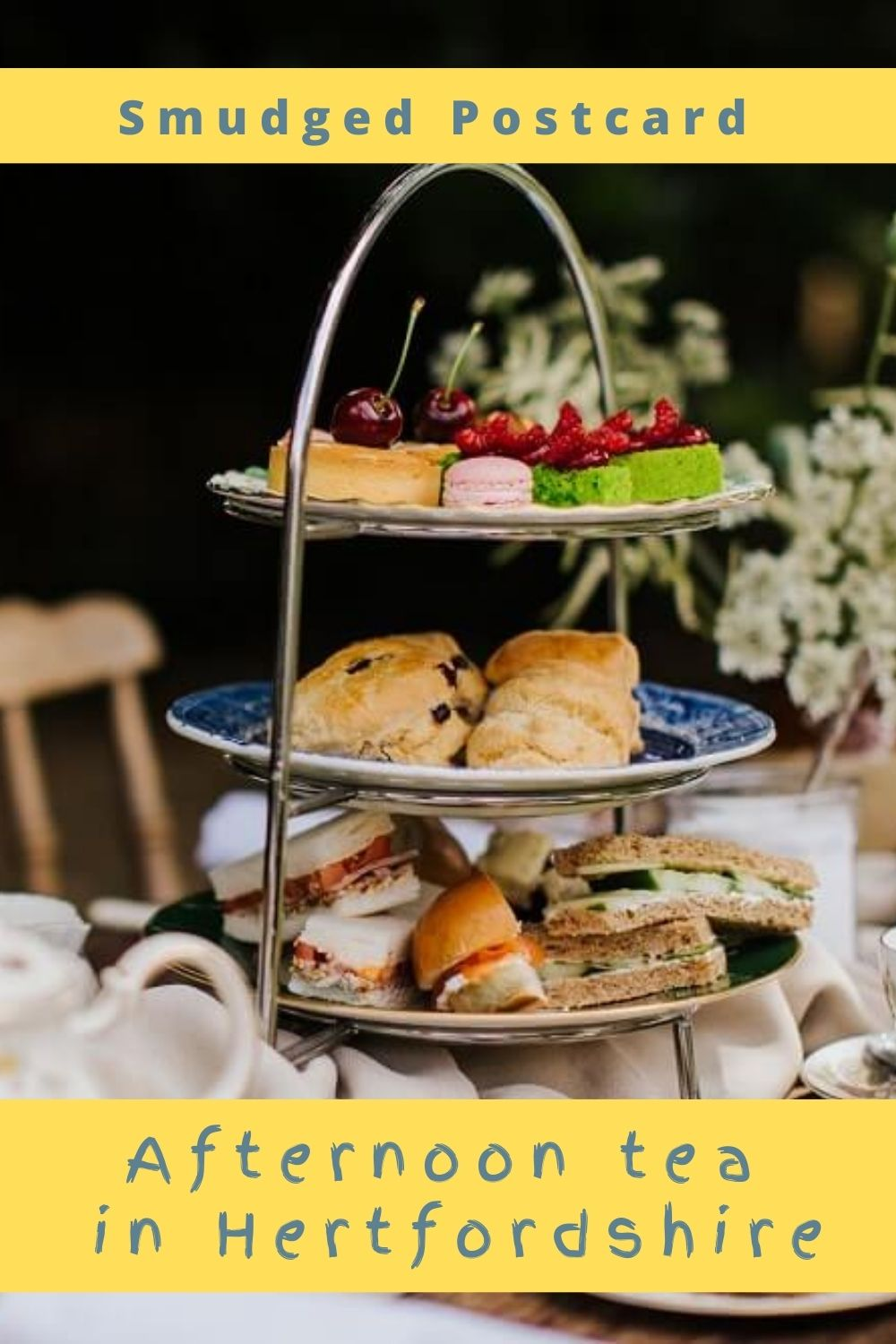 where to have afternoon tea in Hertfordshire