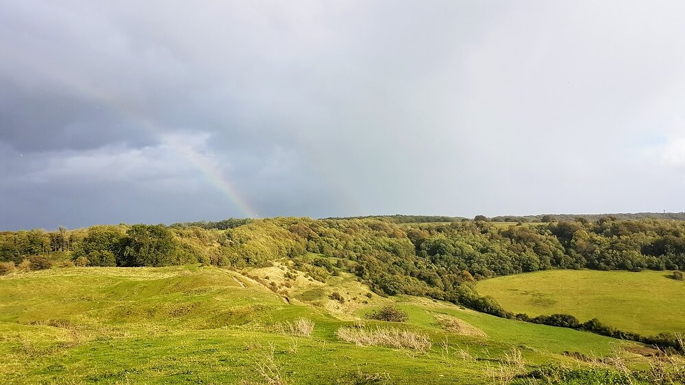 Haresfield Beacon and Randwick Woods in the Cotswolds