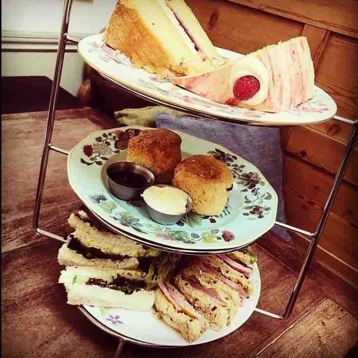 Afternoon tea in Hertfordshire at South Street Pantry in Bishop's Stortford