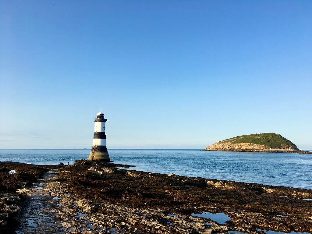 Lighthouse in Anglesey North Wales