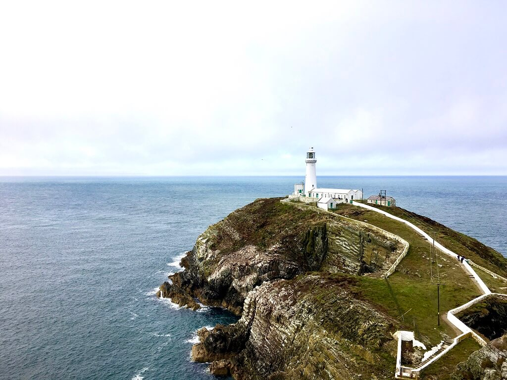 South Stack Lighthouse in Anglesey Wales