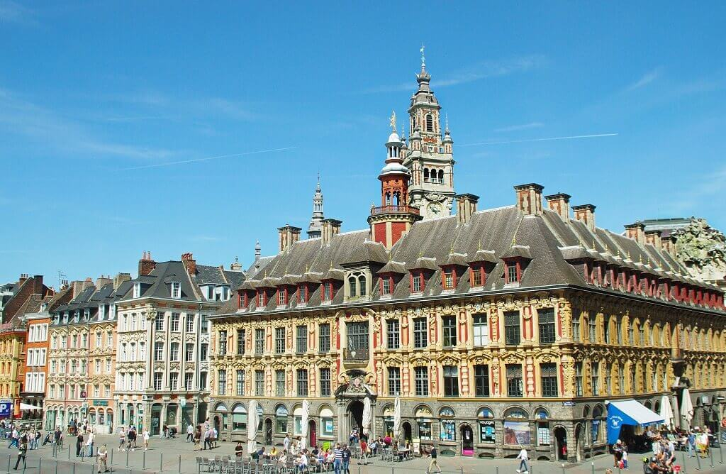 Ornate building in Lille France